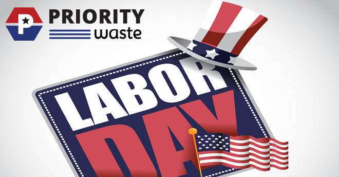 Priority Waste Labor Day 2018