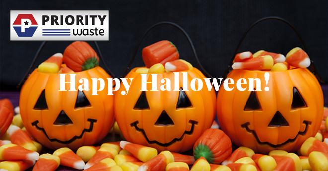 Priority Waste Halloween 2018