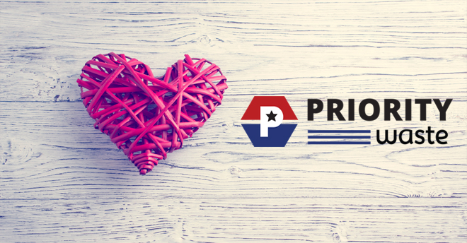 Priority Waste Valentine's Day 2019