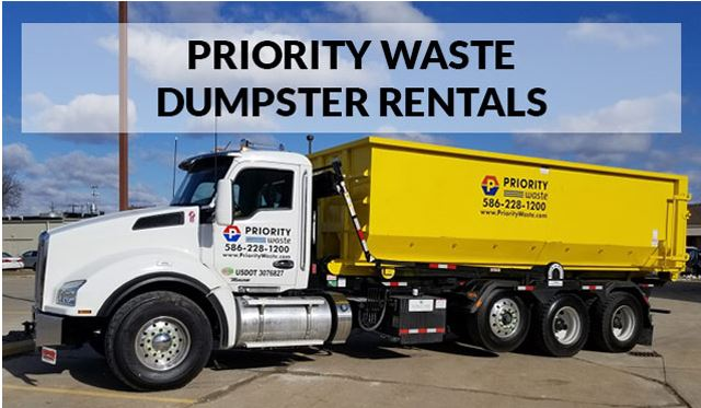 Priority Waste Dumpster Rental Containers