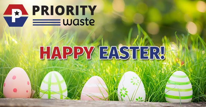Priority Waste Easter 2019
