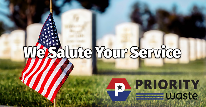Priority Waste Memorial Day 2019
