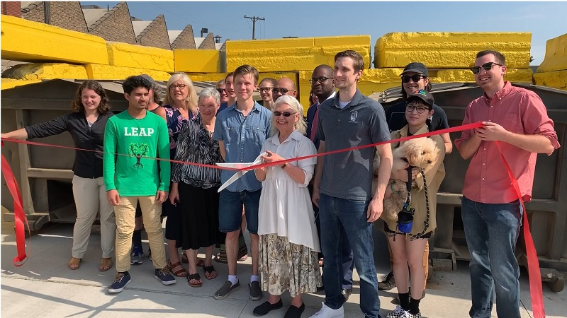 City of Hamtramck Priority Waste Ribbon Cutting
