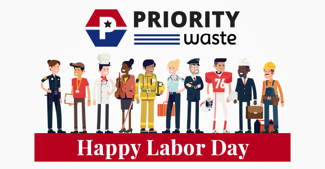 Priority Waste Labor Day 2019