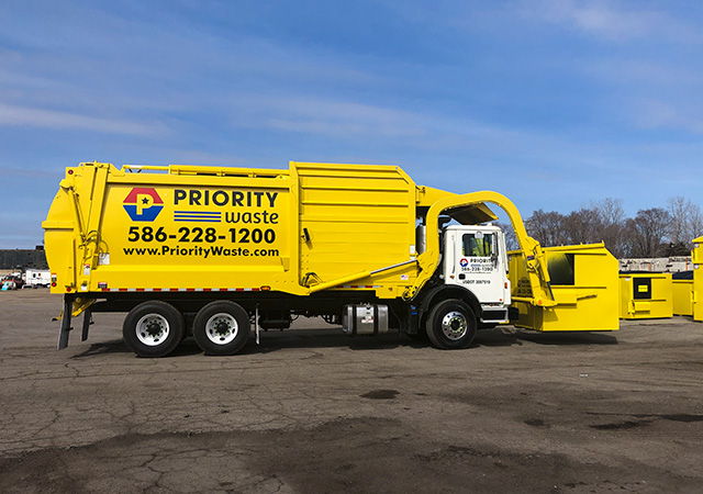 Priority Waste Trash Collection for Your Business